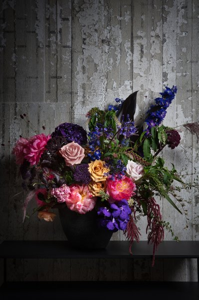 Paul Raeside Living Etc - Dark Florals